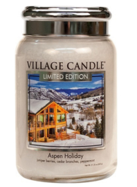 Village Candle  Aspen Holiday Large Jar