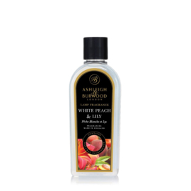 Ashleigh & Burwood Lamp Fragrance 500ml White Peach & Lily