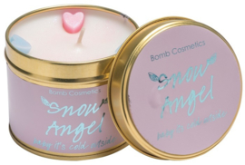 Tinned Candle Snow Angel