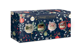 Yankee Candle Countdown To Christmas 4 Votives Giftset