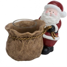 Santa Push Votive Holder