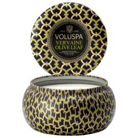 Vervaine Olive Leaf 2 wick - Maison Metallo