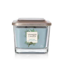Coastal Cypress Medium - 3 wick Square Candle