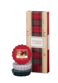 Yankee Candle Alpine Christmas  Stocking Filler 3 Wax Tarts