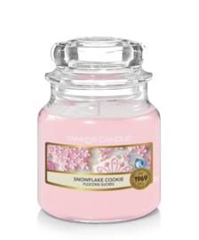 Yankee Candle Snowflake Cookie Small Jar