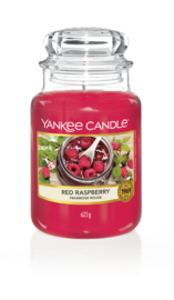 Yankee Candle Red Raspberry Large Jar