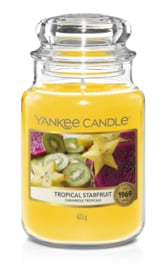 Yankee Candle Tropical Starfruit Large Jar