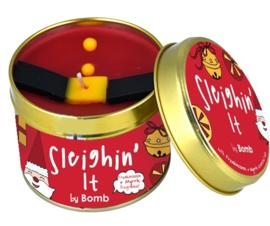 Bomb Cosmetics Sleighin' It  Tinned Candle