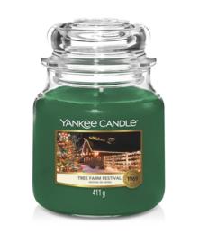 Yankee Candle Tree Farm Festival Medium Jar