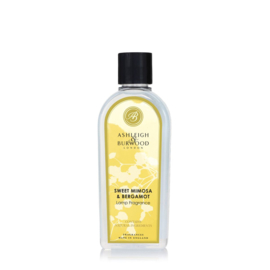 Ashleigh & Burwood Lamp Fragrance 500ml Sweet Mimosa & Bergamot
