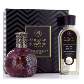 Ashleigh & Burwood Rose Bud Giftset Small Fragrance Lamp