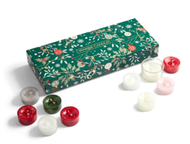 Yankee Candle Countdown To Christmas 10 Tealights & 1 Holder