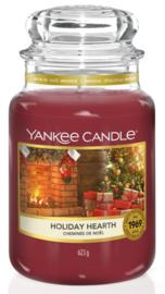 Holiday Hearth Large Jar