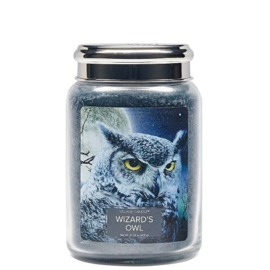 Village Candle Wizard's Owl Large Jar