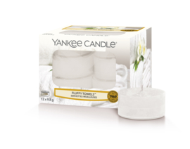 Yankee Candle Fluffy Towels Tealights