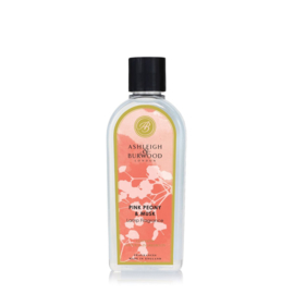 Ashleigh & Burwood Lamp Fragrance 500ml Pink Peony & Musk