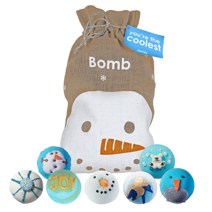 Bomb Cosmetics You're The Coolest Hessian Giftset
