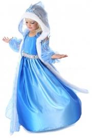 Frozen Jurk met Cape prinses Elsa 2 delig : LUXE EDITON mt 104