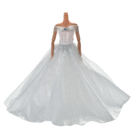 Barbie Royal Wedding Dress White