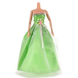 Barbie jurkje Green