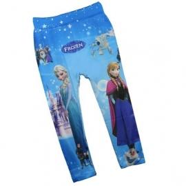 Frozen legging Elsa&Anna  blauw (mt. 116-128)