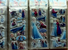 Frozen Elsa & Anna Stickervel