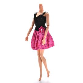 Barbie jurkje Floral