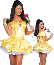 Belle & the Beast  Jurk Kort met Petticoat 36/44