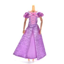 Barbie jurkje Rapunzel