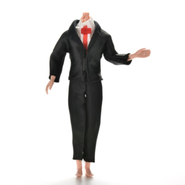 Ken setje black Wedding Suit