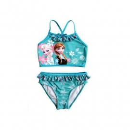 Frozen bikini setje groen/blauw mt 110-140