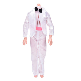 Ken setje White Wedding Suit