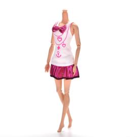 Barbie jurkje Joyce