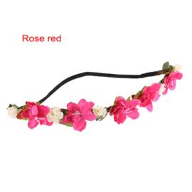 Frozen Flower - Elastische Haarband  - in 7 kleuren