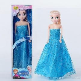 Frozen Elsa  pop, Barbie formaat 30 cm incl. kleding