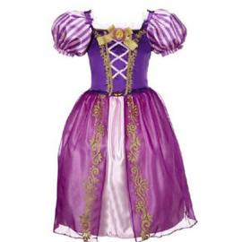 Rapunzel jurk  Luxe mt 92-104