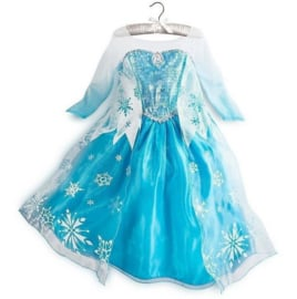 Frozen jurk  Elsa IJsster -mt 116-140