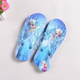 Frozen Elsa slippers blauw (mt 28 tm 33)
