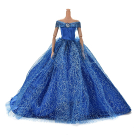 Barbie Royal Dress Blue