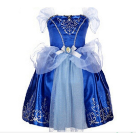 Assepoester LUXE Prinsessen jurk