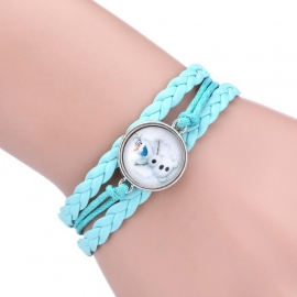 Frozen wrap armband (blauw Elsa, groen Anna, frozen blauw Olaf)