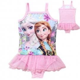 Frozen zwempak Elsa & Anna met tutu rokje