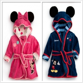 Badjas Mickey & Minnie Mouse (80-110)