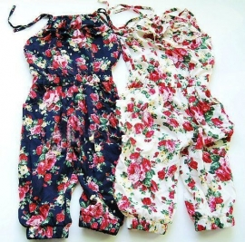 Jumpsuit Floral Blue 86-134