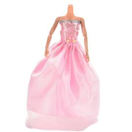 Barbie jurkje Rose