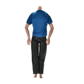 Ken setje Casuel   (met leatherlook broek)