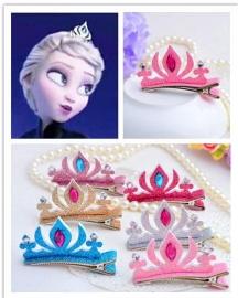 Frozen Haarclip Kroon (3 kleuren)