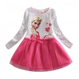 Frozen Elsa tutu roze  - mt  116-140