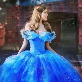Luxe Cinderella Luxe Baljurk  34/44