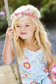 Bloem Haarband Flower - Makkelijk Elastisch  ( 7 kleuren)